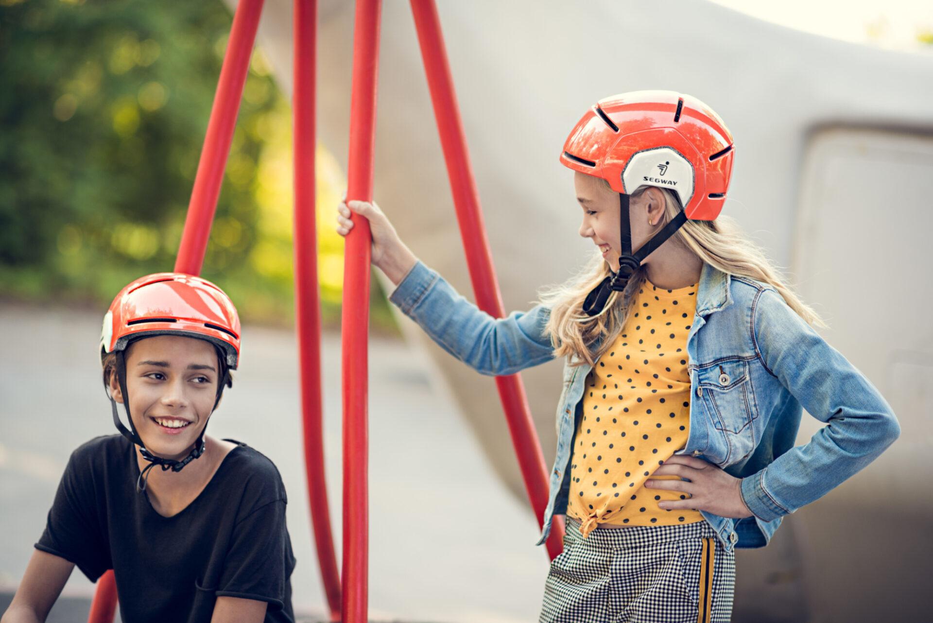 [hero] Segway KickScooter Helmet Kids