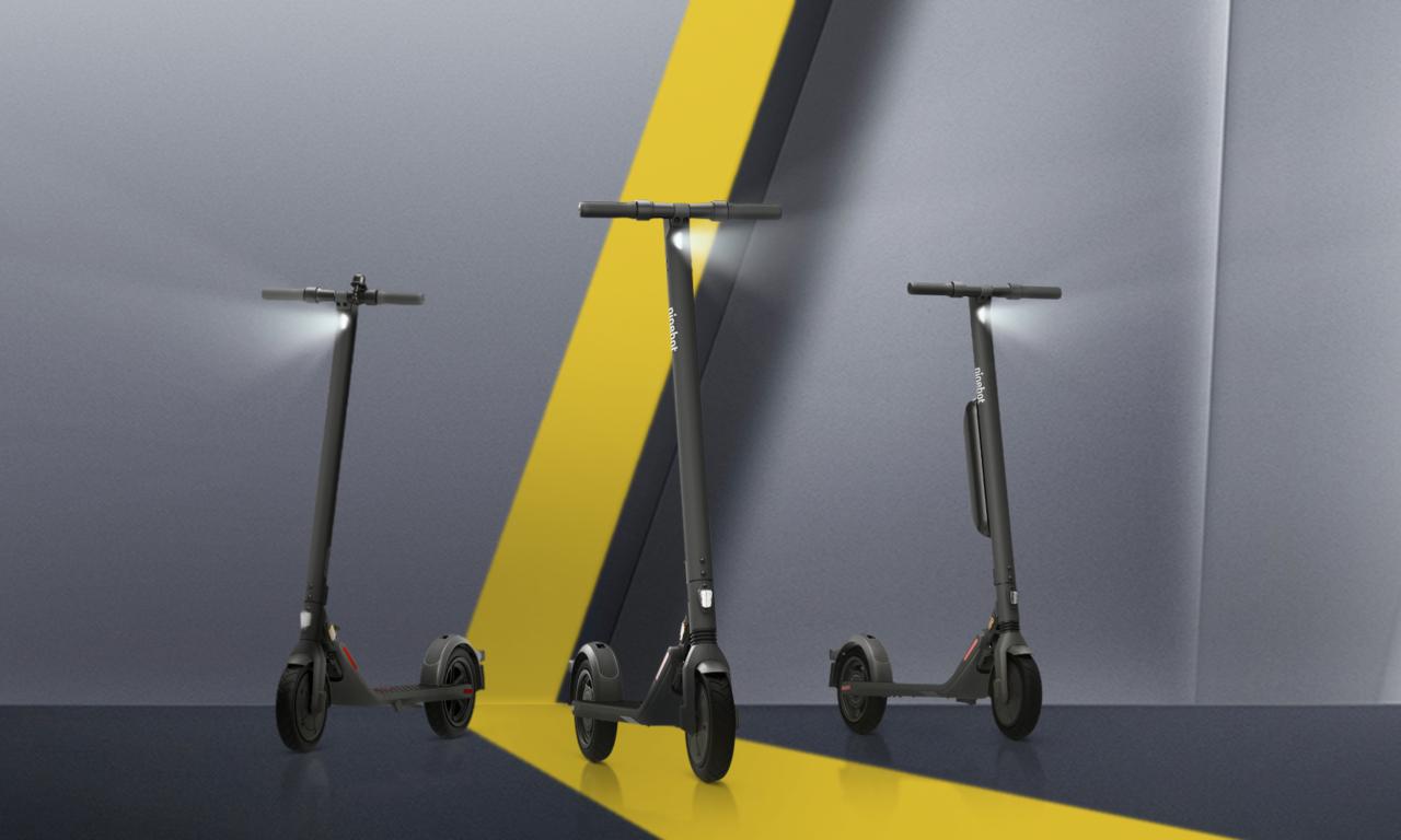 Ninebot KickScooter E22D, E25D und E45D