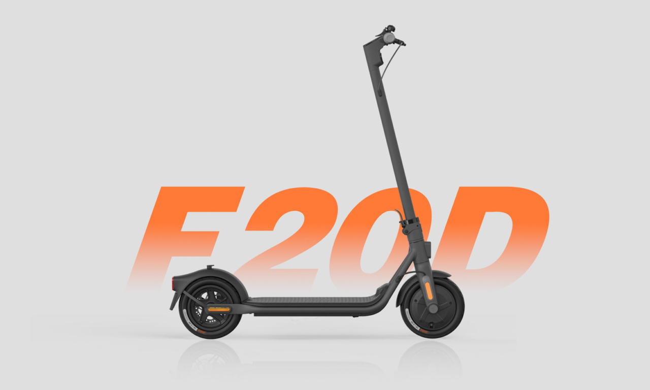 Ninebot KickScooter F20D Powered by Segway