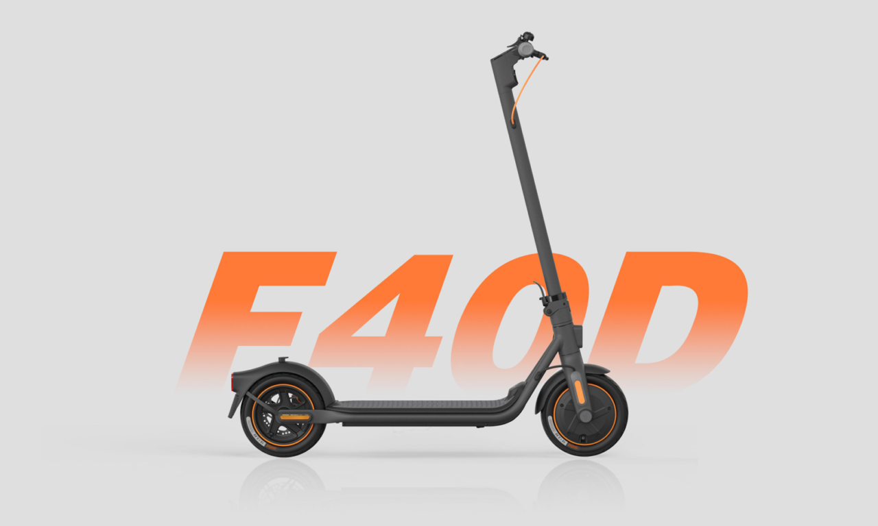 Ninebot KickScooter F40D Powered by Segway