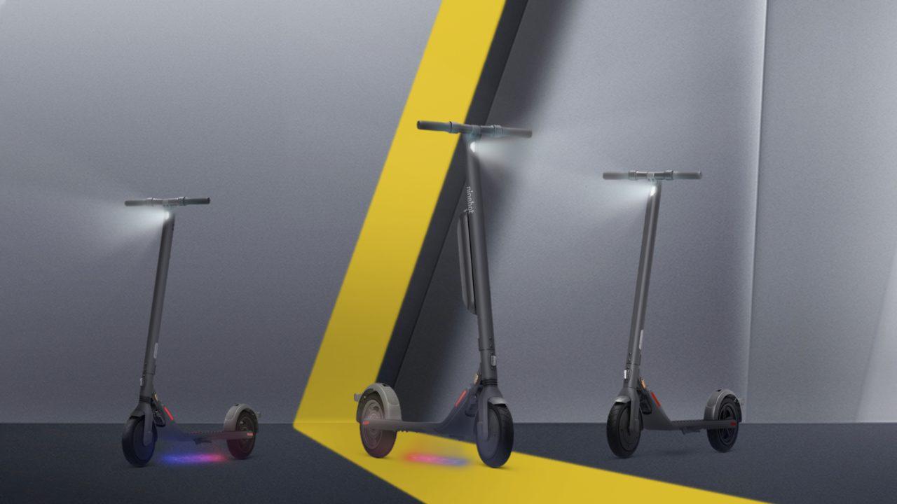 Ninebot KickScooter E22E, E25E and E45E