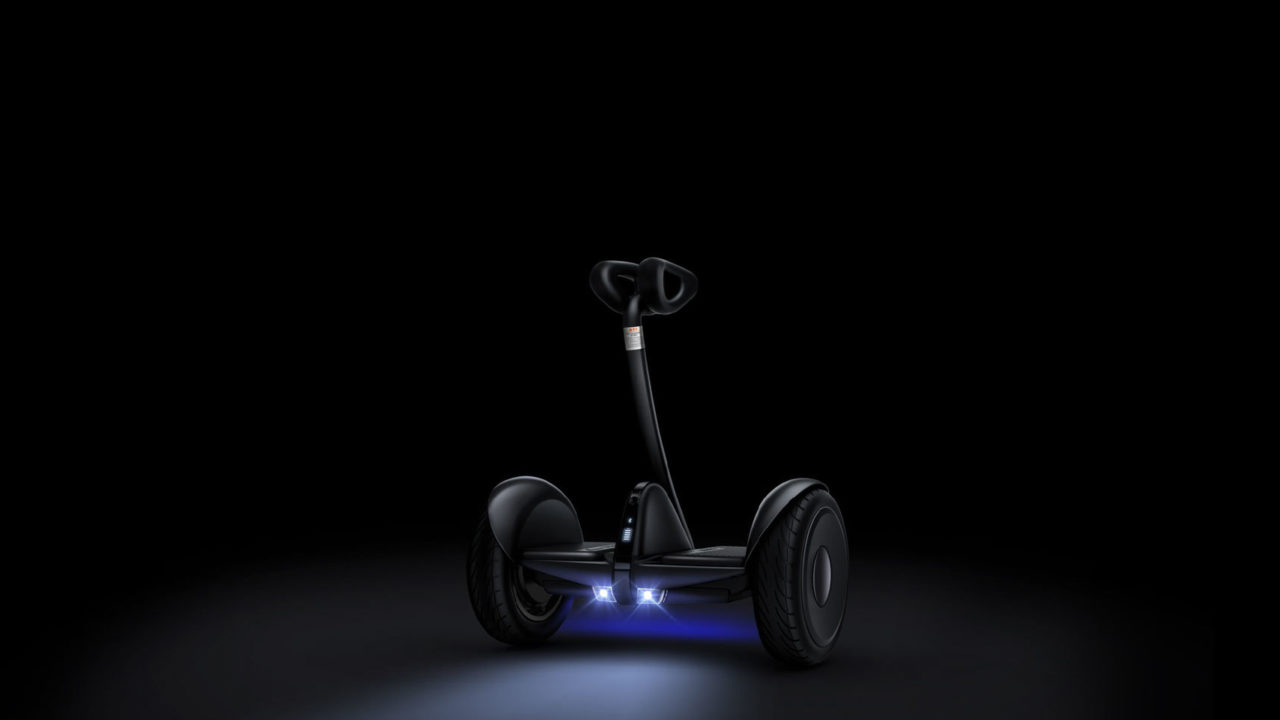 Smart Self-Balancing Electric Transporter