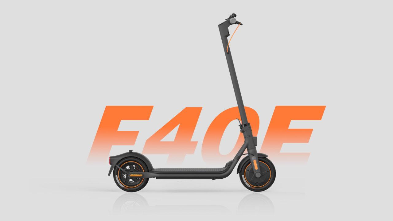 Ninebot KickScooter F40E Powered by Segway