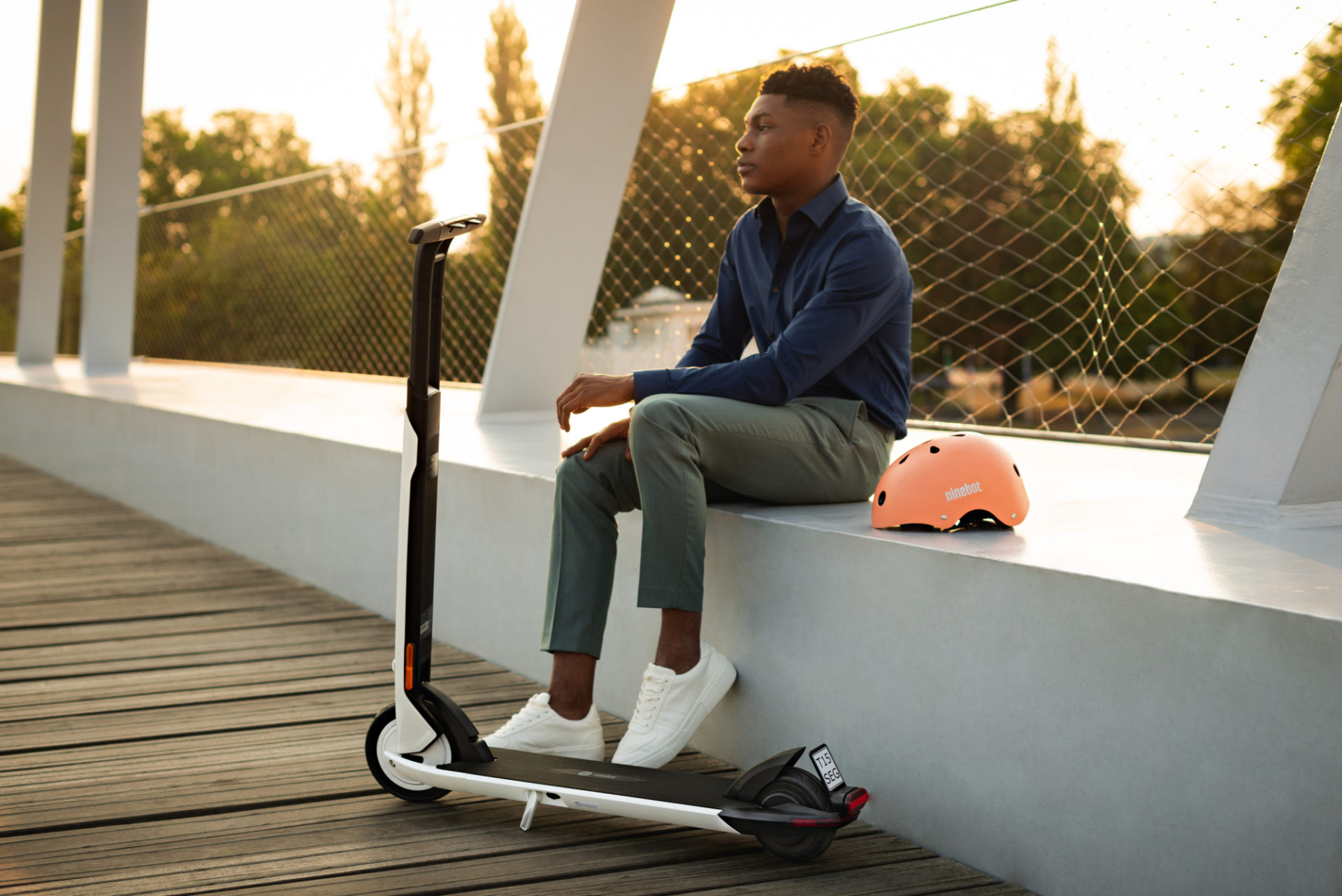 [hero] Ninebot KickScooter Air T15D Powered by Segway