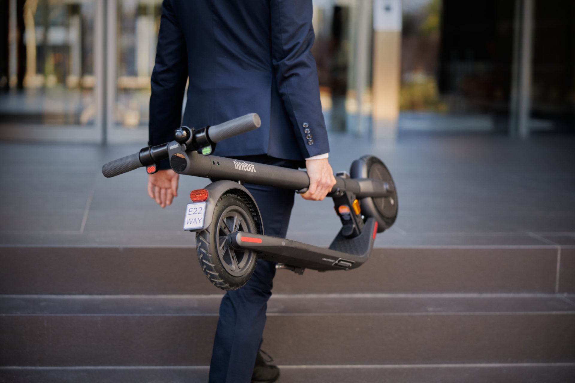 The KickScooter will bring you anywhere you need to go