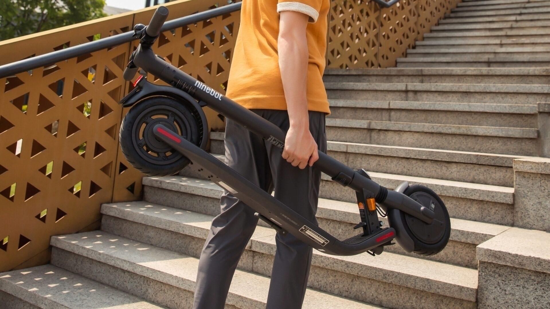 Der KickScooter bringt Sie überall hin, wohin Sie wollen