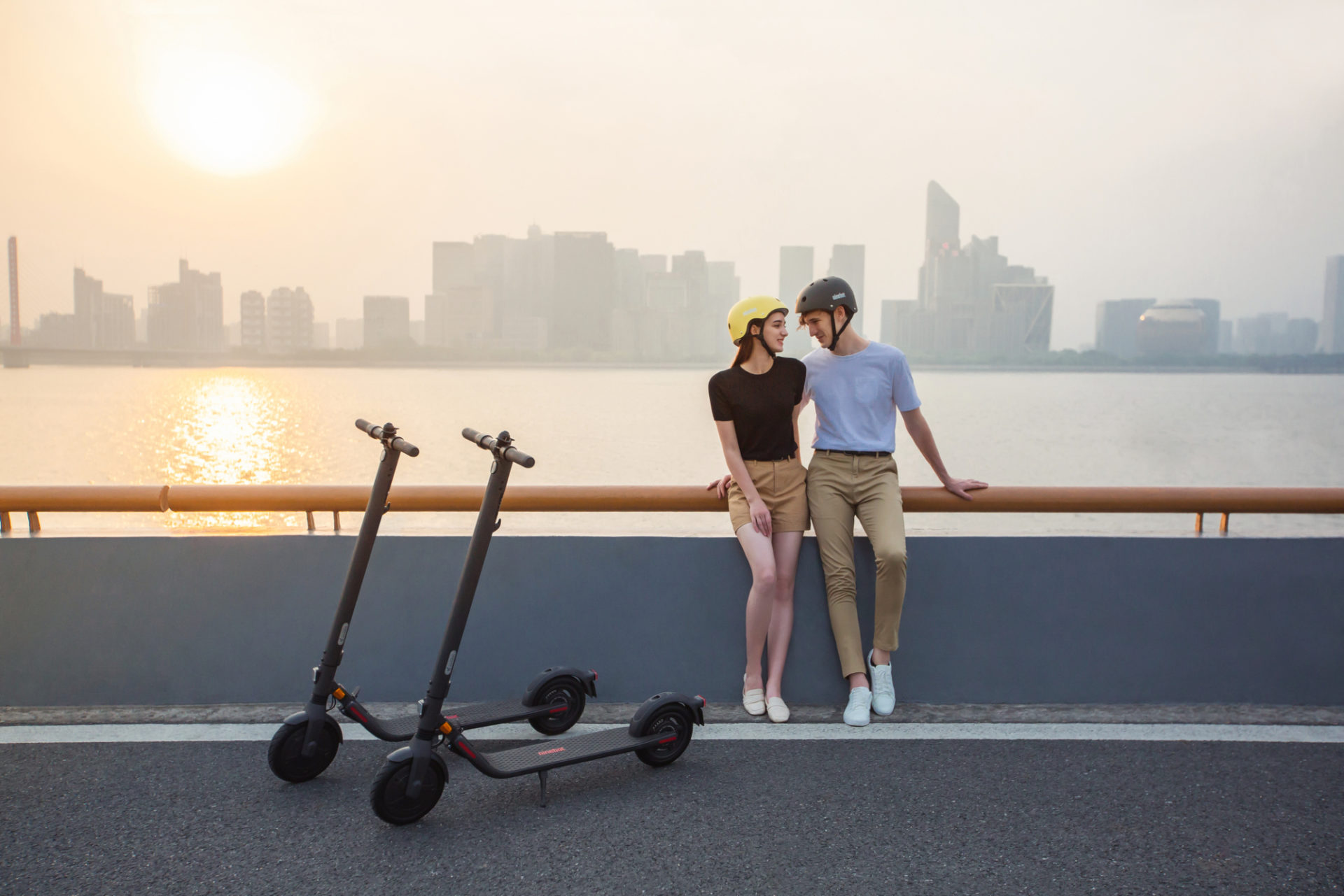[hero] Ninebot KickScooter E25D Powered by Segway