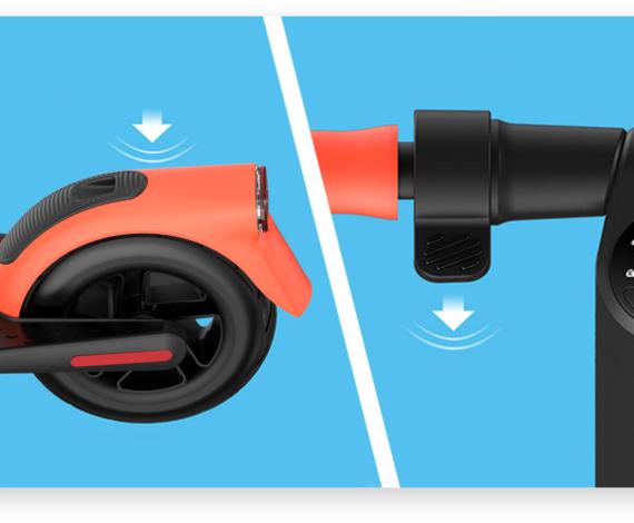 Zwei unabhängige Bremsmethoden