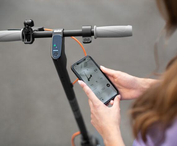 Rimani sempre connesso con l'App Segway-Ninebot