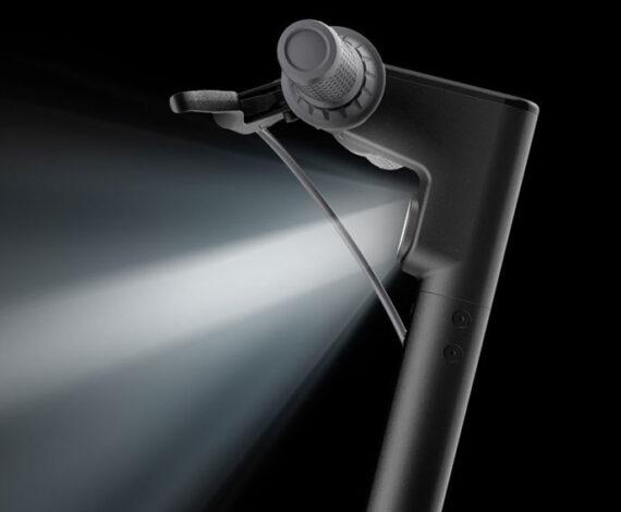 Faro delantero y luz de freno trasero LED integrados