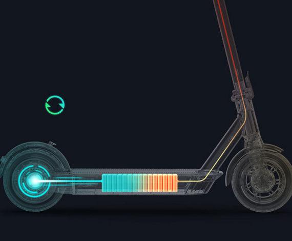 Freno regenerador para reciclaje de energía