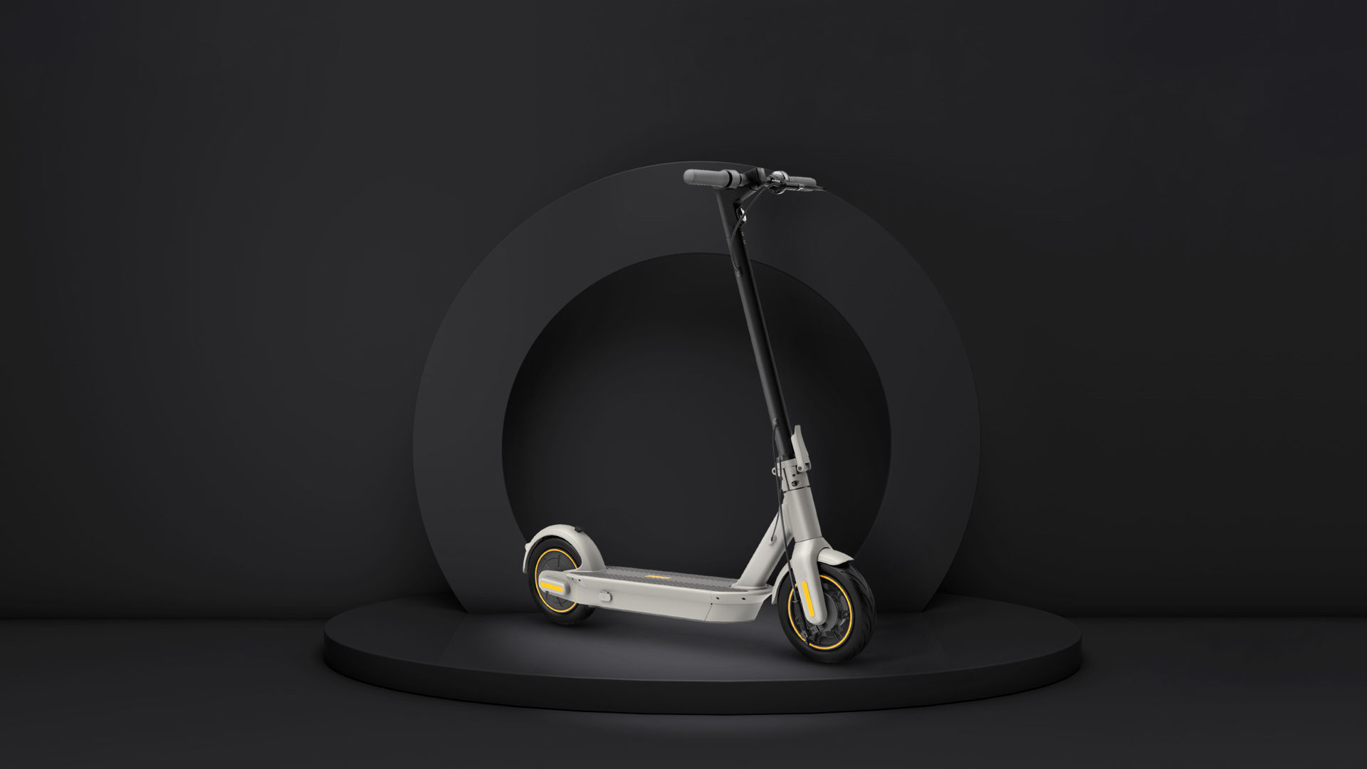 New Ninebot Kickscooter Max G30le Powered By Segway