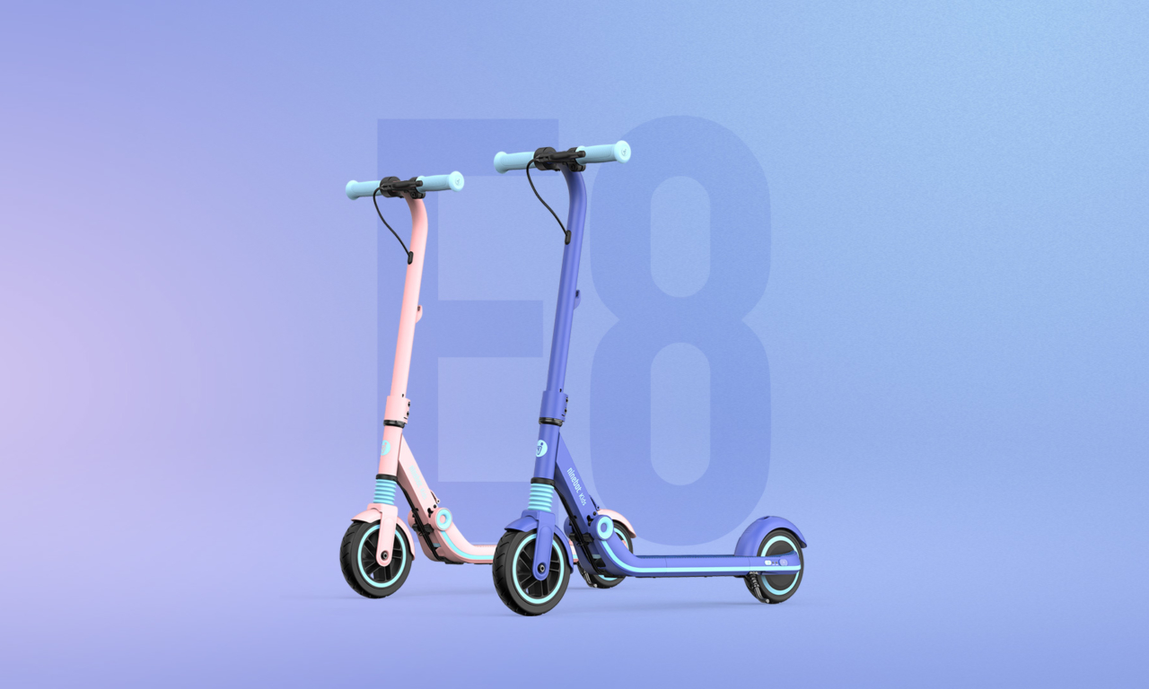 ZING E8, THE EKICKSCOOTER DESIGNED FOR YOUNGSTERS!