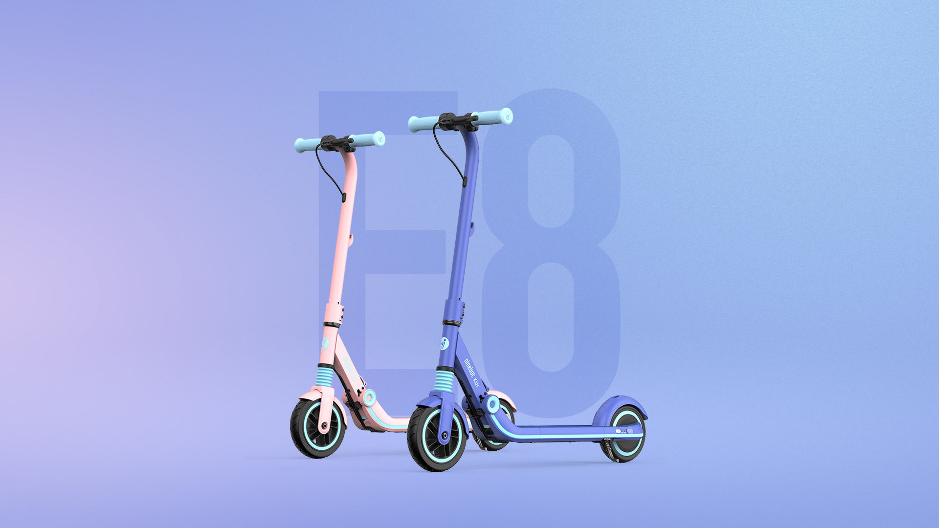 [hero] Ninebot eKickScooter ZING E8 Powered by Segway
