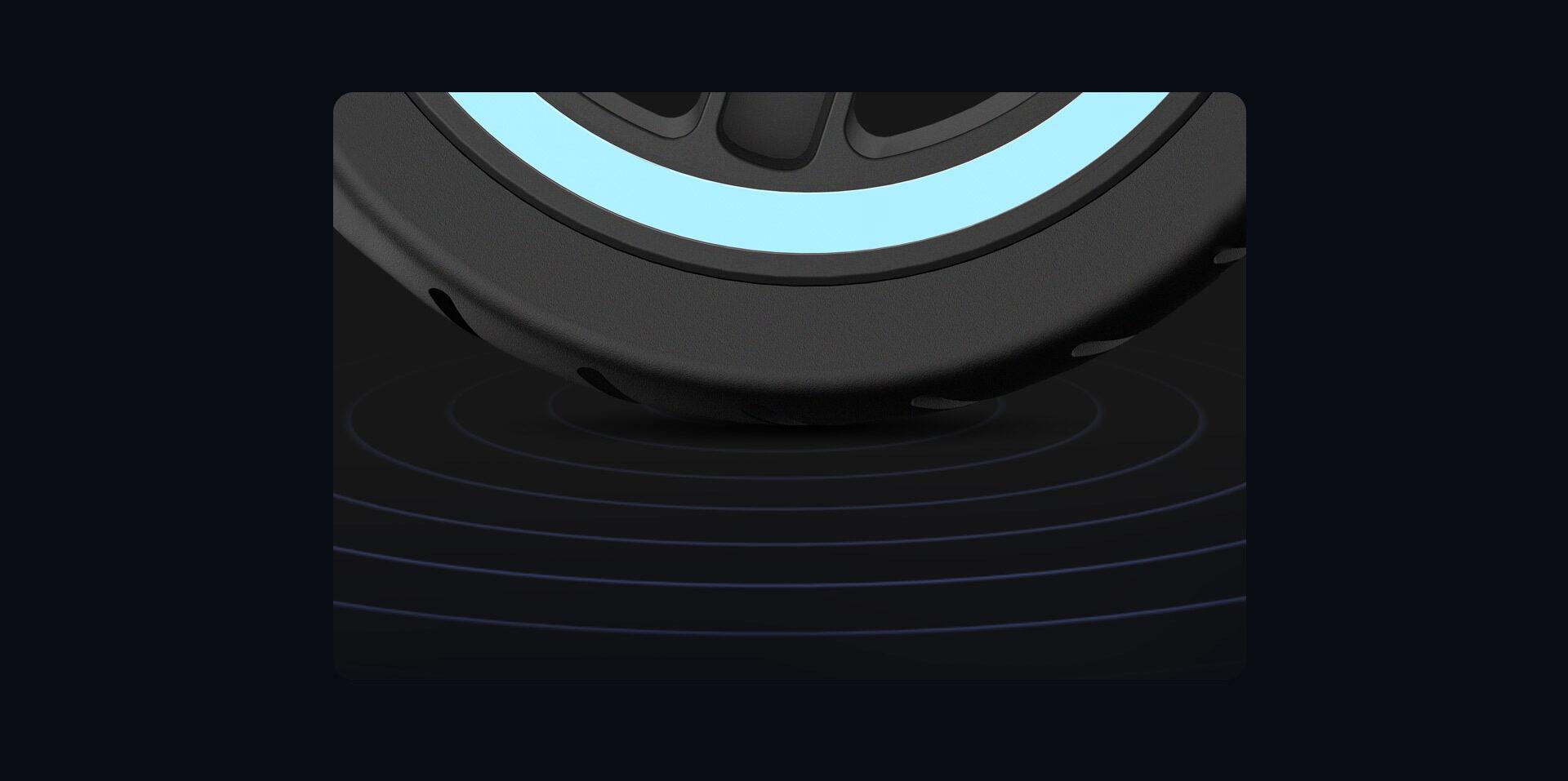 Vysoko elastické gumové pneumatiky