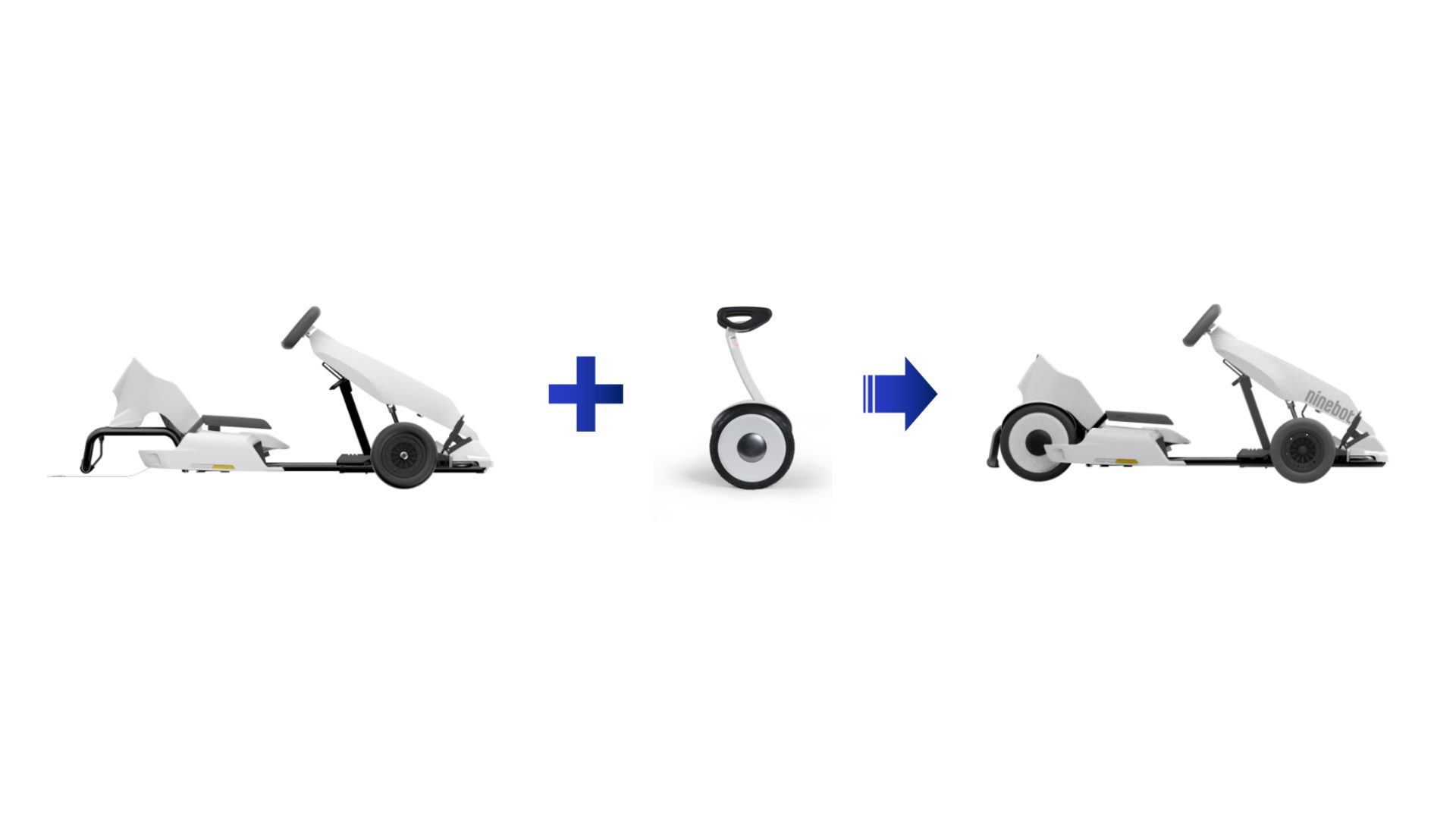 Convert Your Ninebot S into a Gokart!
