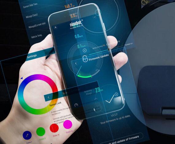 Segway-Ninebot mobile App