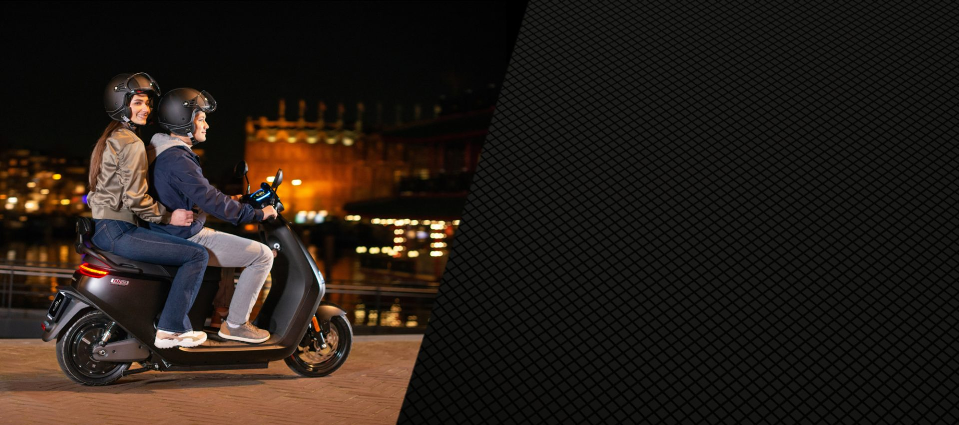 Customise and choose the riding mode that fits your need