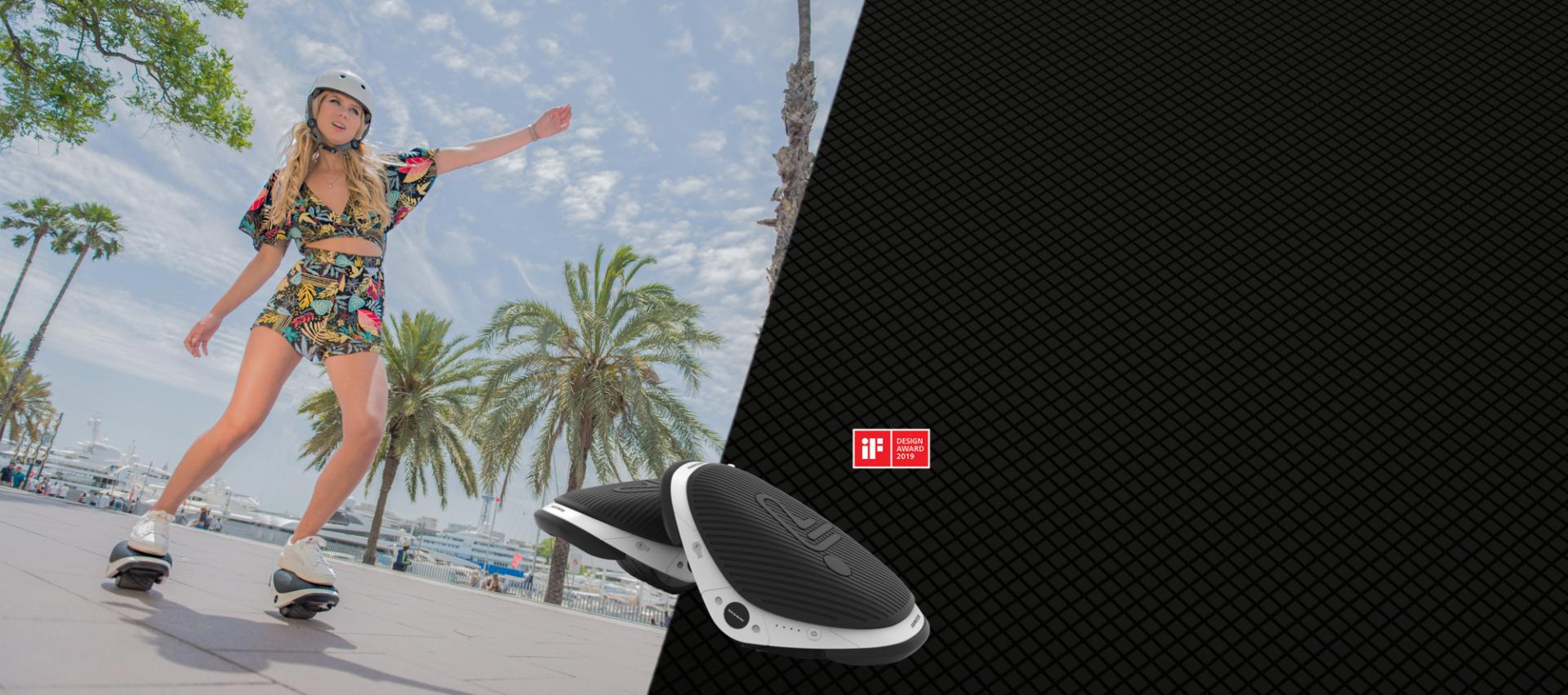 Promotion avec les e-skates Segway Drift W1